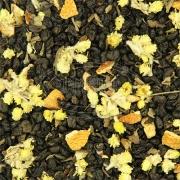 Лайм-Базилик зеленый чай (цедра лимона, цветки бессмертника, лепестки базилика) 50 г