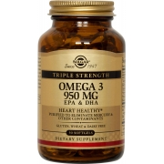Омега-3 950 мг ЕПК ДГК капсулы Солгар / Solgar 100 капсул