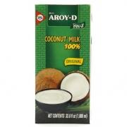 Кокосове молоко 60% Aroy-D 1000 мл